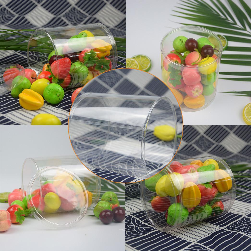 Jiamu-Plastic Packaging Tubes Manufacturer, Transparent Tube Plastic Round Packaging-4