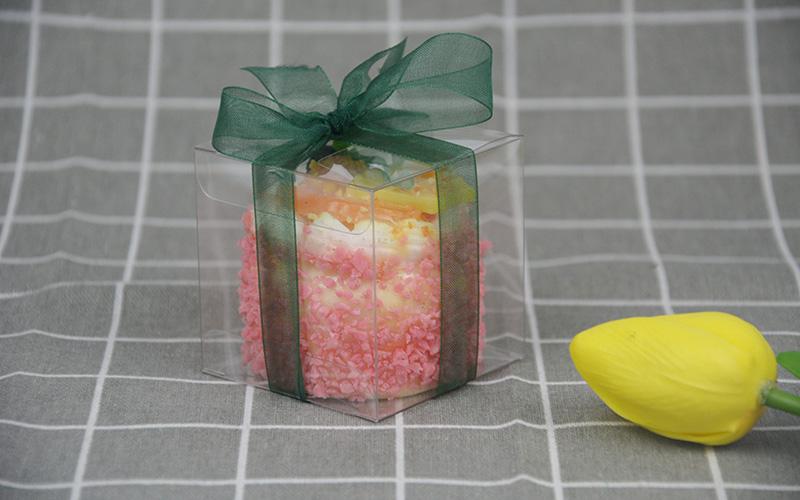 Jiamu-666 Small Transparent Folding Plastic Packaging Box For Mini Gift-1