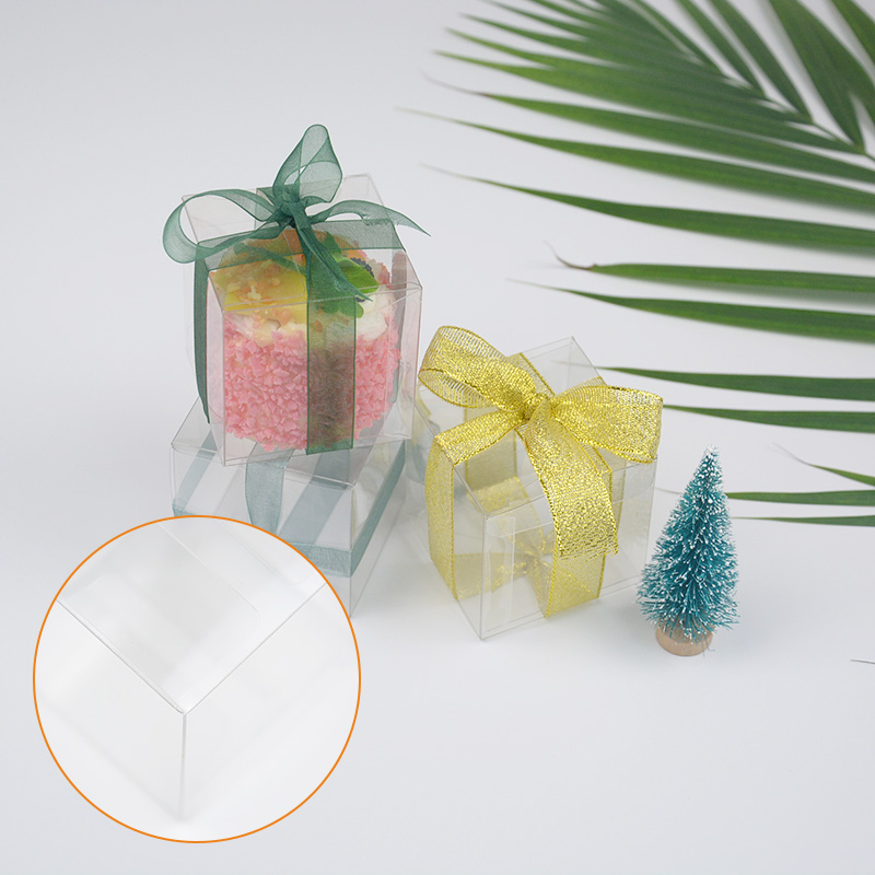 Jiamu-666 Small Transparent Folding Plastic Packaging Box For Mini Gift-3