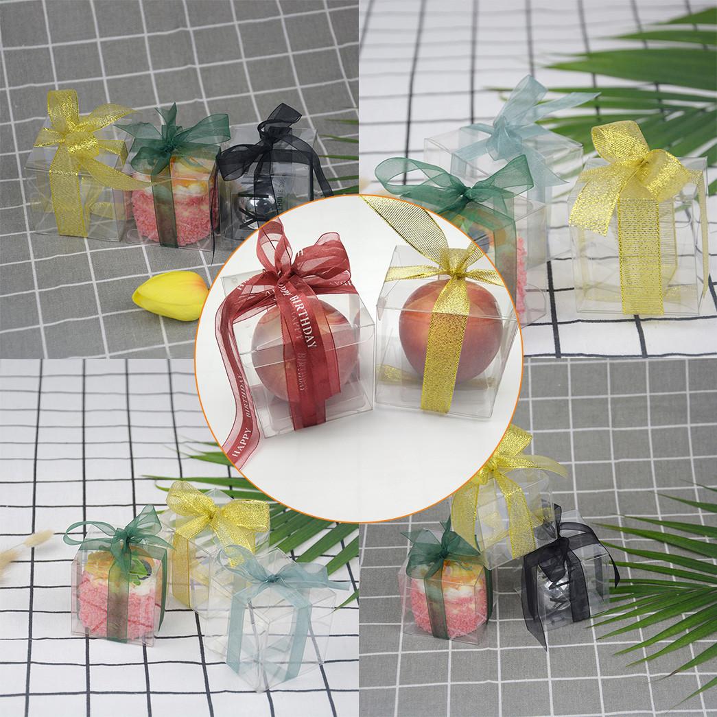 Jiamu-666 Small Transparent Folding Plastic Packaging Box For Mini Gift-4