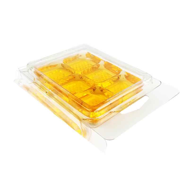 custom 6 Compartment transparent waxmelt blister packaging