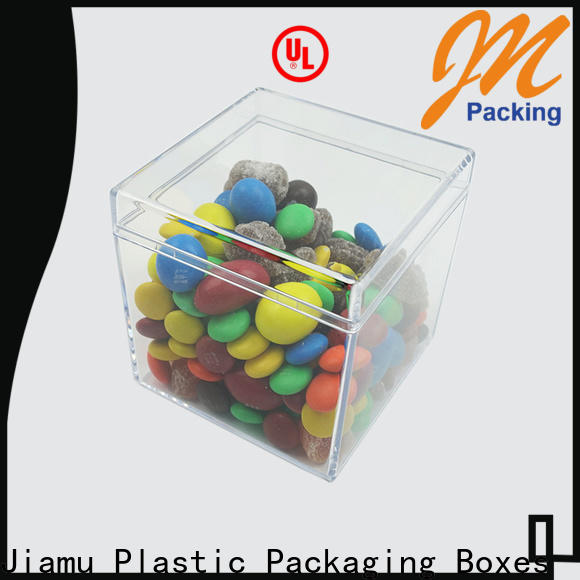 Jiamu best clear storage containers factory for gift