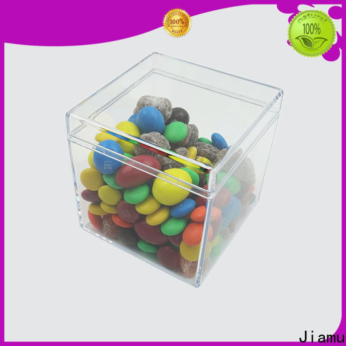 Jiamu top plastic box for storage for business for cosmetic