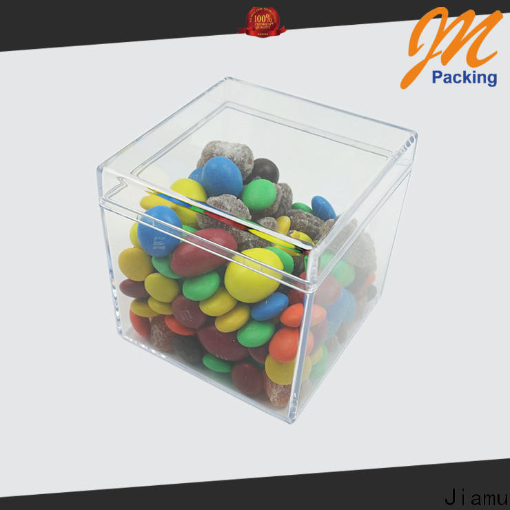 Jiamu multifunction clear plastic storage boxes factory for stationary