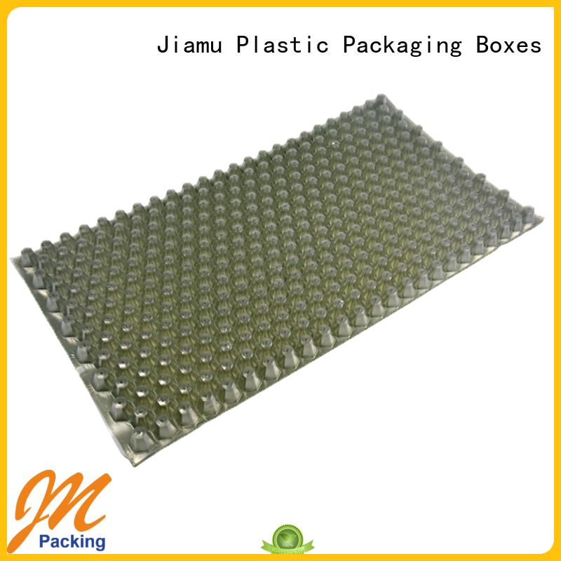 recyclable punching wax blister Jiamu manufacture