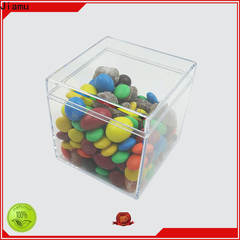 Jiamu wholesale plastic cake container manufacturers for cosmetic