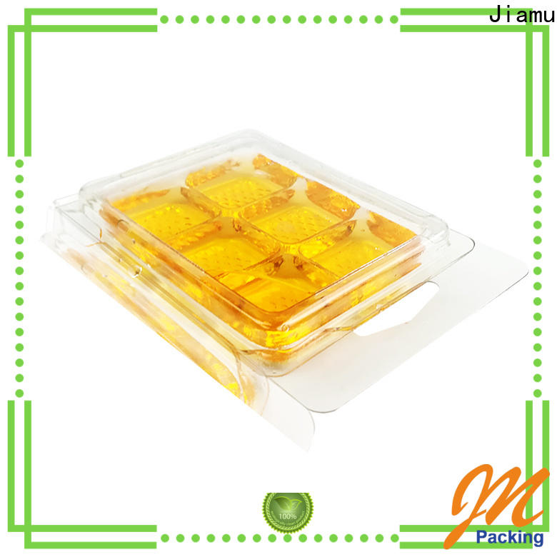 Jiamu plastic wax blister on sale for candles