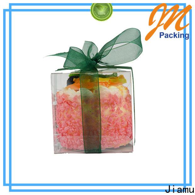 Jiamu best plastic box printing supply for cosmetic