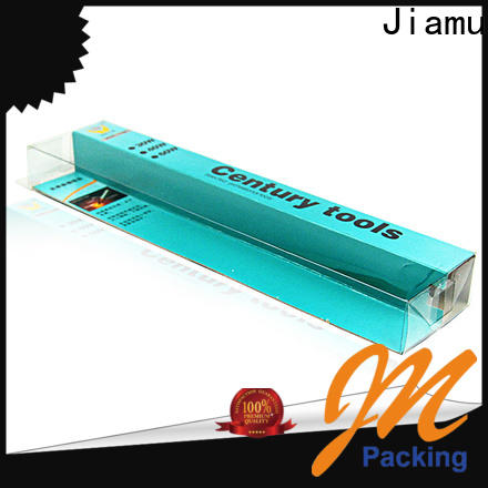 Jiamu latest small clear boxes manufacturers for stationary