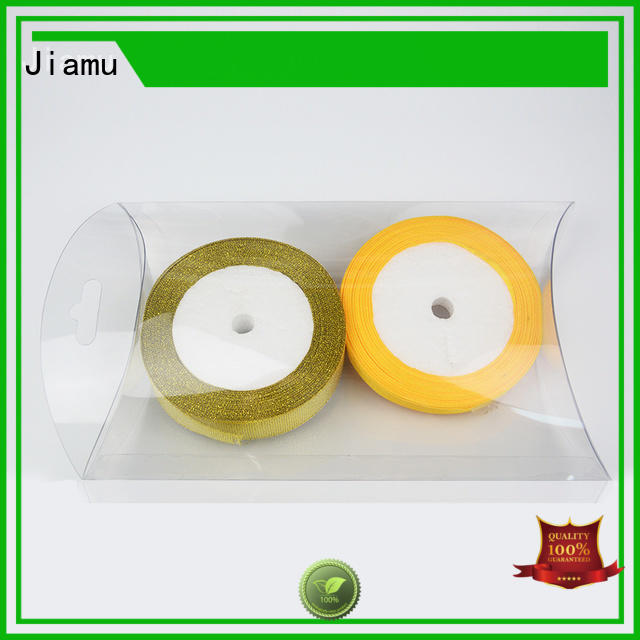 Jiamu approved printed plastic box directly price for cosmetic