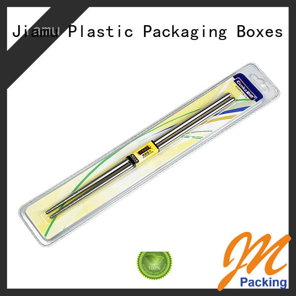 Jiamu hairdrying daily necessities blister packaging supplier for scissors