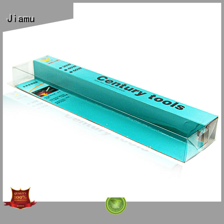 Custom stationary goods pvc folding box Jiamu customized