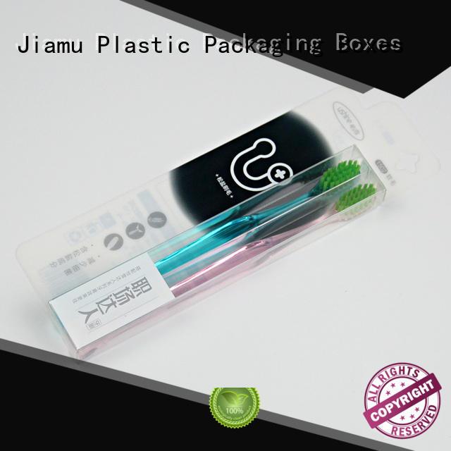 Custom Plastic PVC/PET Box Packaging for Toothbrush