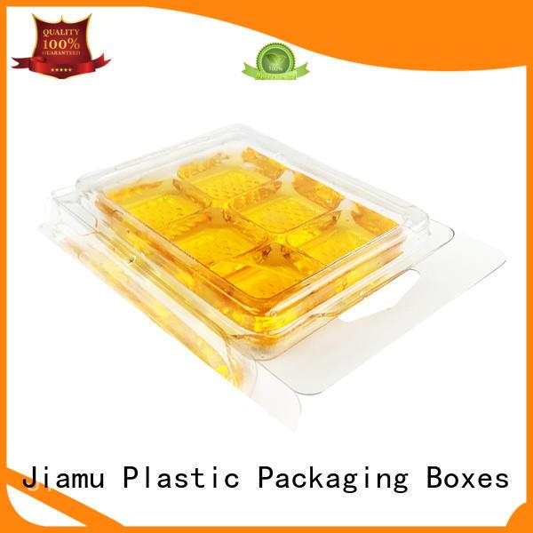biodegradable packing blister cap for fork Jiamu