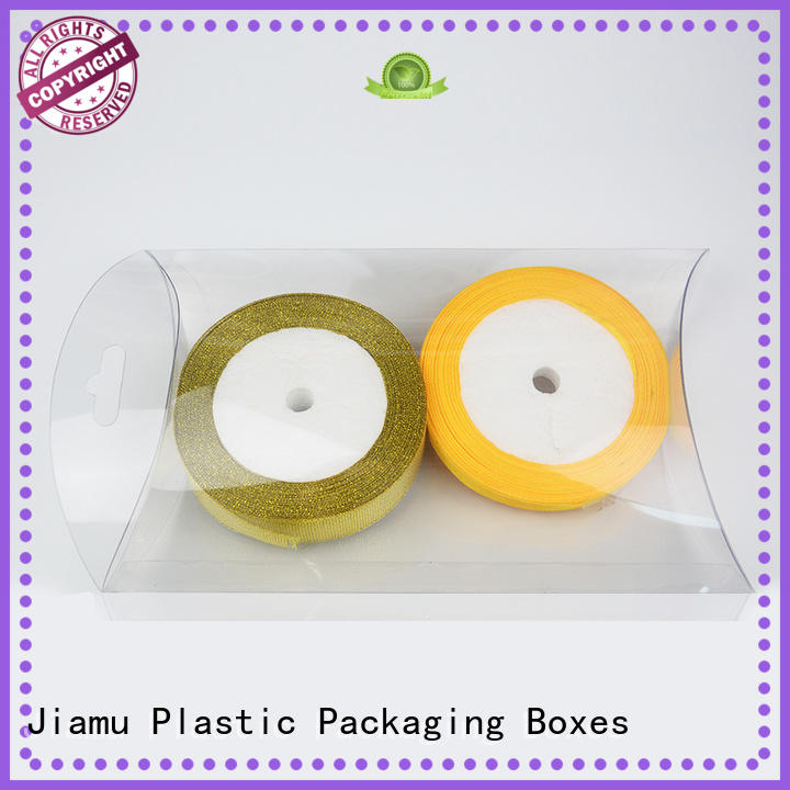 Jiamu medicinecosmeticsmall plastic box packaging wholesale for products displaying