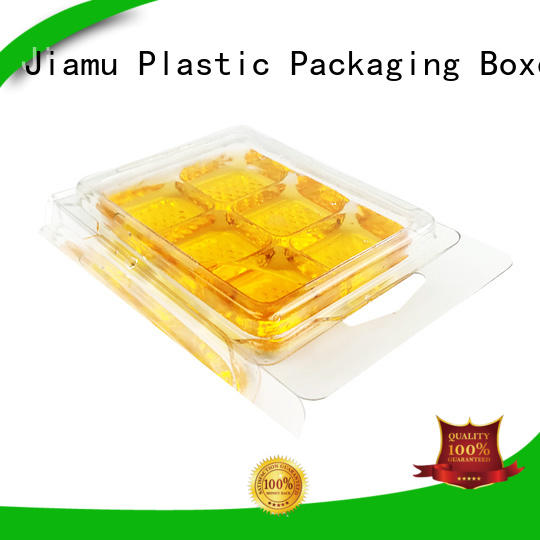 Jiamu customized wax blister packaging for toothbrush
