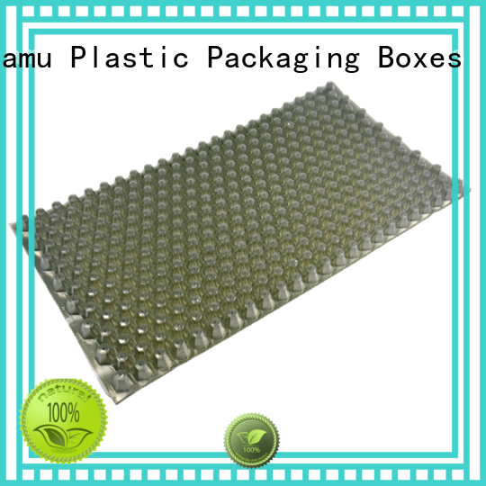 wax blister recyclable customized vacuum thermoforming Jiamu Brand