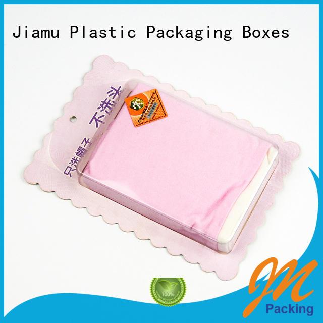 Jiamu Brand punching transparent wax blister wax melt pack