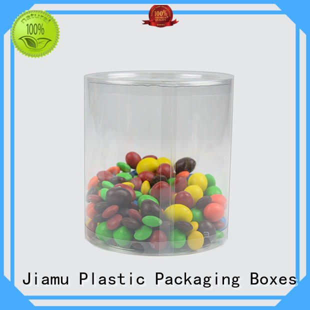 Jiamu approved plastic tube packaging factory price for toy