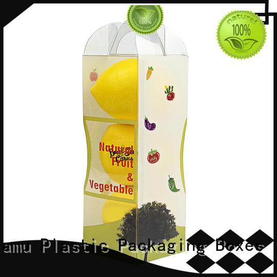 China Factory Direct New Design Fresh Fruit  Plastic Folding Box Supplier