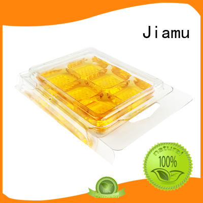 Jiamu compartment wax blister packaging from China for toothbrush