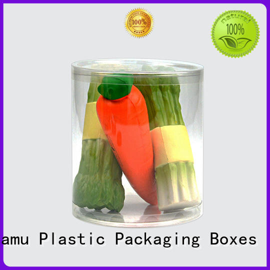 Jiamu candytoybath plastic tube packaging manufacturers factory price for toy