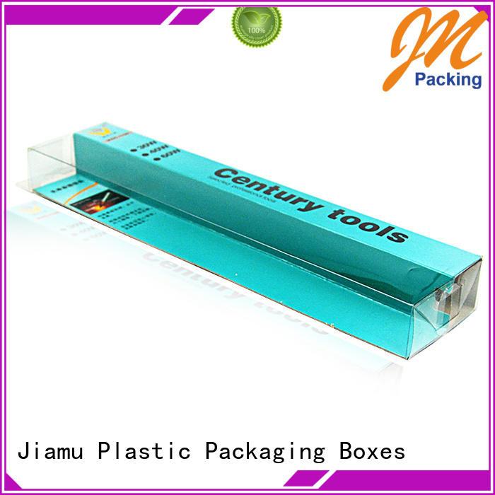 China Factory Direct PVC Box Supplier Custom Design Plastic PVC Folding Box for Tool