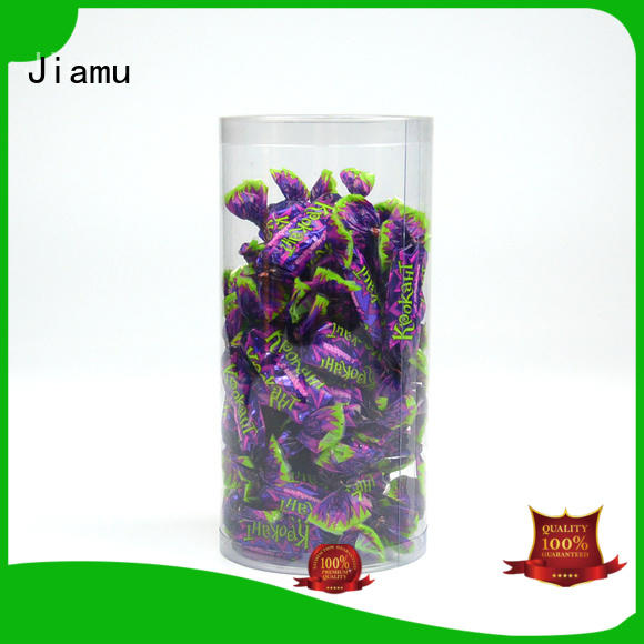handle blister useful clear plastic tube packaging Jiamu manufacture
