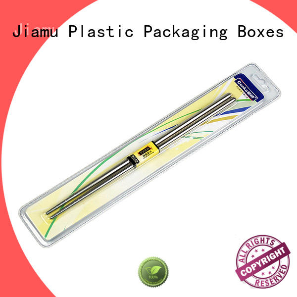 Jiamu durable daily necessities blister packaging factory price for fork