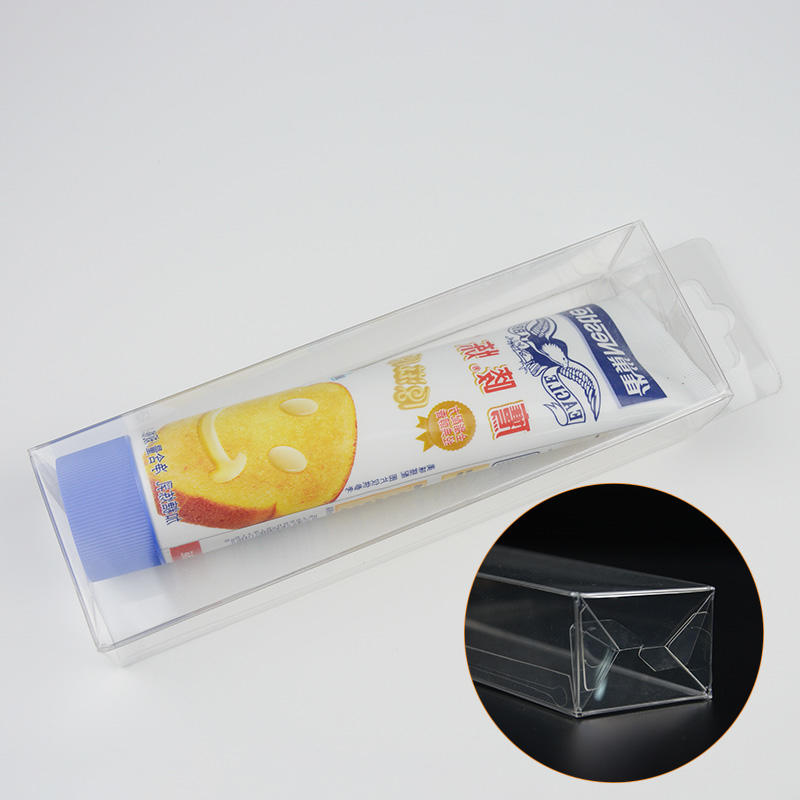 Jiamu-Pvc Folding Box, Transparent Plastic Folding Box Packaging For Toothpaste-2
