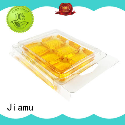 Jiamu transparent biodegradable plastic containers from China for toothbrush