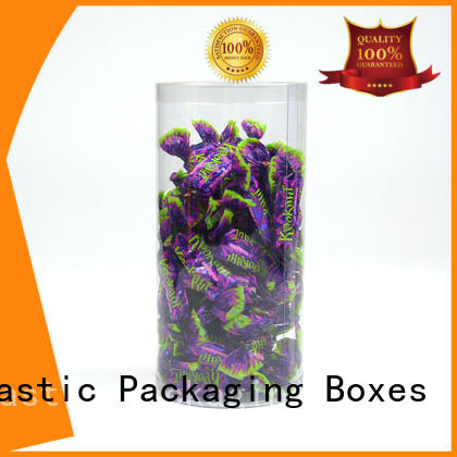 Jiamu Brand blister shaped cylinder clear plastic tube packaging various