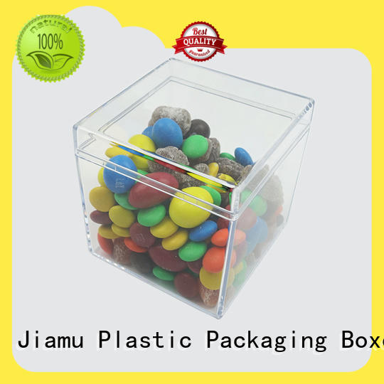 Jiamu clear cupcake containers wholesale company for stationary