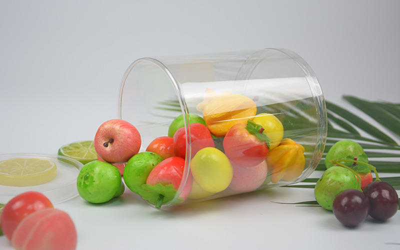 Jiamu-Transparent Tube Plastic Round Packaging With Curling Edge - Jiamu Plastic-1