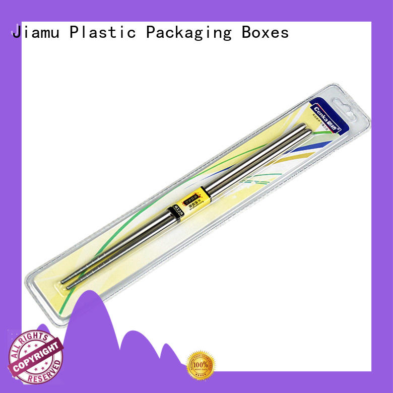 Jiamu customized wax blister packaging factory price for signature pen
