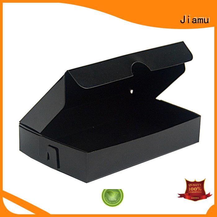 Jiamu design plastic folding box from China for cosmetic