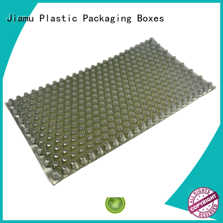 Jiamu seed wax blister packaging factory price for spoon knife