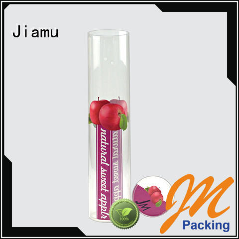 Jiamu ballcrayon plastic packaging tubes manufacturer factory price for toy
