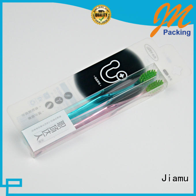 Jiamu direct folding boxes plastic supply for electronic product