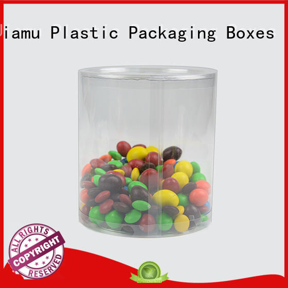 Jiamu apple plastic tube packaging supplier for gifts