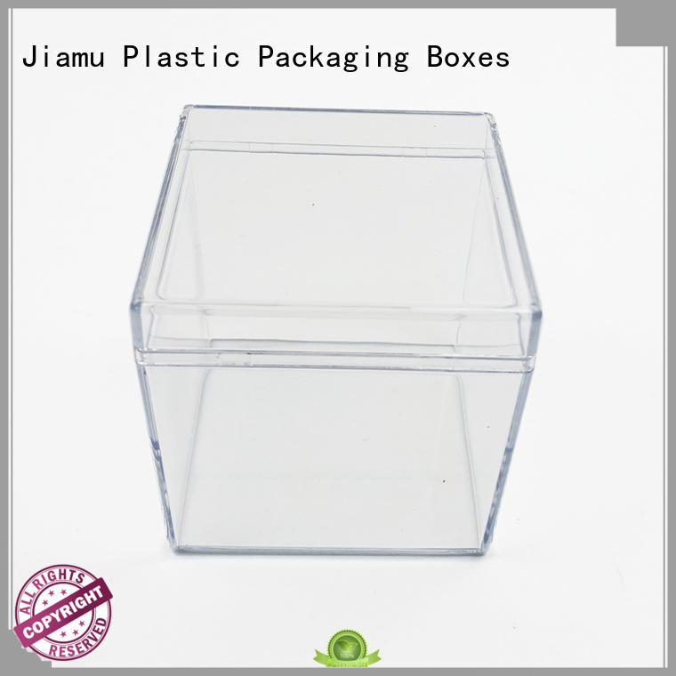 box Hard Plastic Packaging online for toy Jiamu