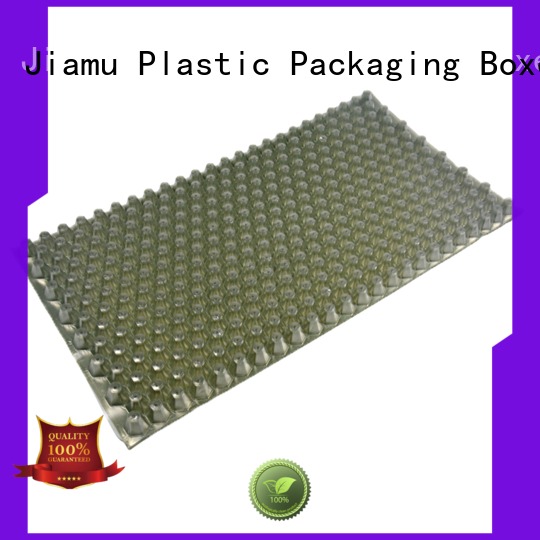 Jiamu transparent wax blister packaging supplier for candles
