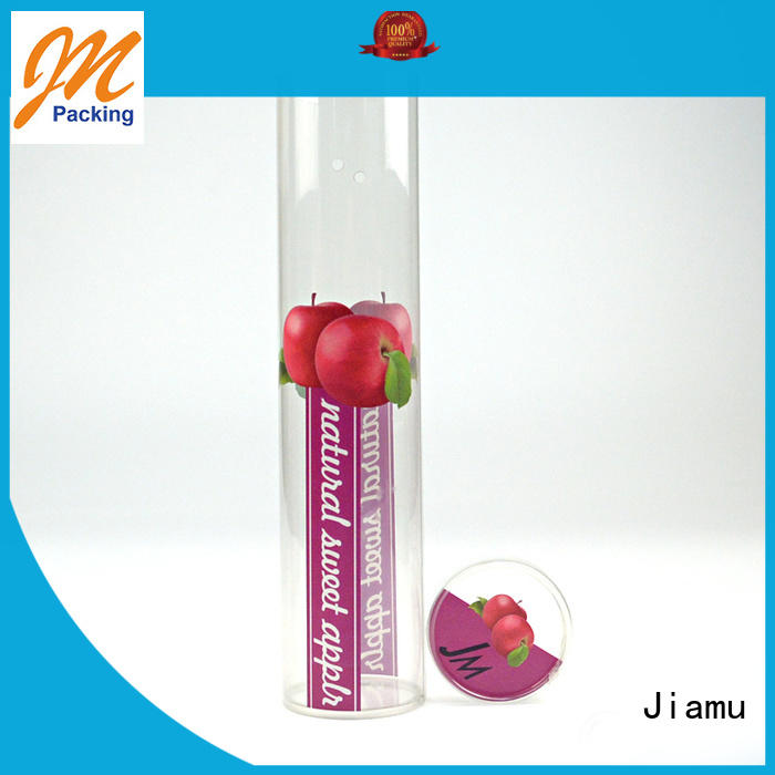 clear plastic tube packaging clear blister plastic tube packaging Jiamu Brand