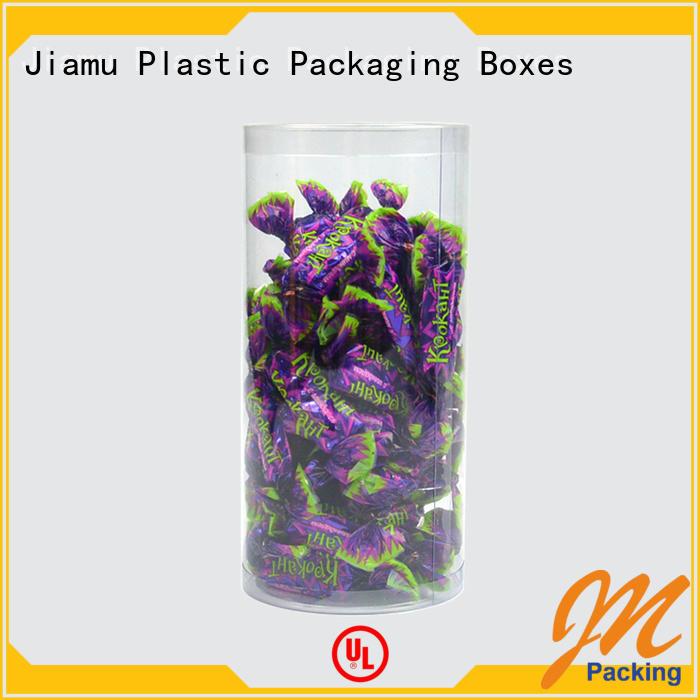 Jiamu high-quality custom plastic tube packaging company for clothes