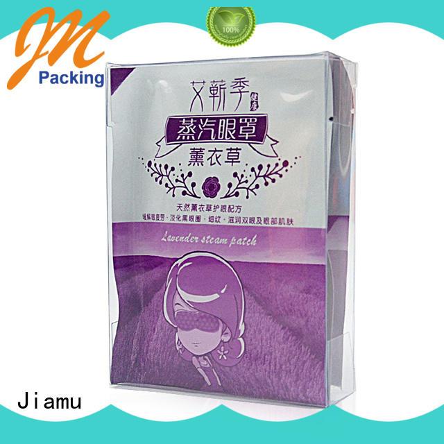 Jiamu logo plastic box gift packaging manufacturer for fruit packaging