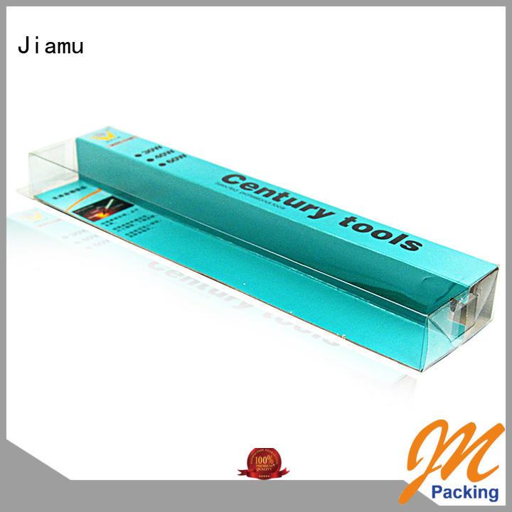 Jiamu 666 plastic box gift packaging manufacturer for fruit packaging