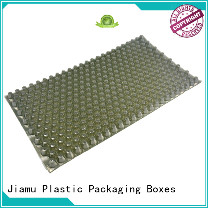 wax blister transparent customized daily necessities blister packaging Jiamu Brand