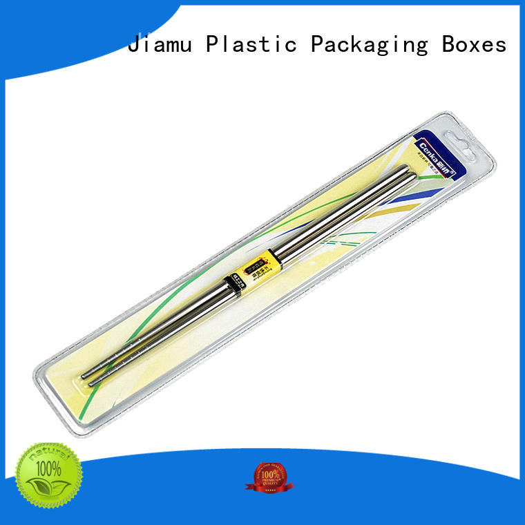 Jiamu durable wax blister packaging packaging for signature pen