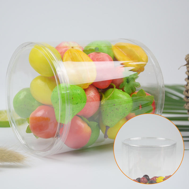 Jiamu-Transparent Tube Plastic Round Packaging With Curling Edge - Jiamu Plastic-2