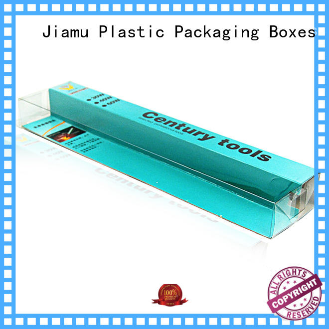 Jiamu toothpaste plastic packaging box from China for fruit packaging